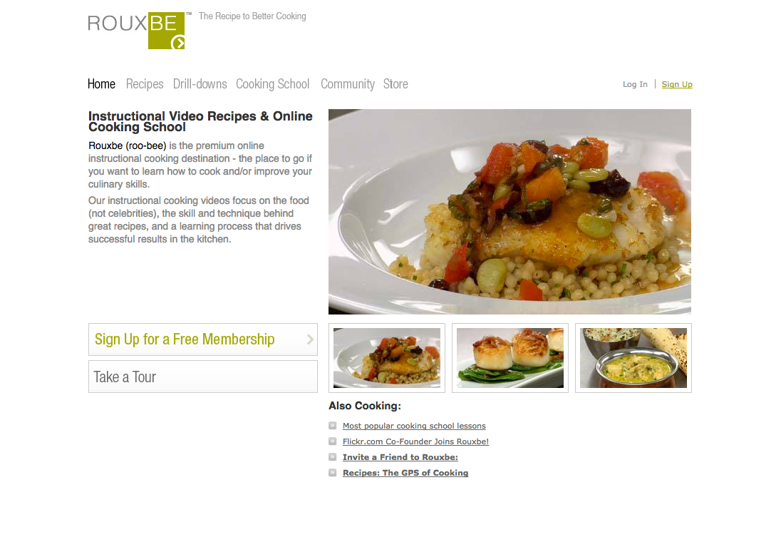 We Began Working With Rouxbe Back In 2009 The Focus Was Clear From Start Teach People To Cook